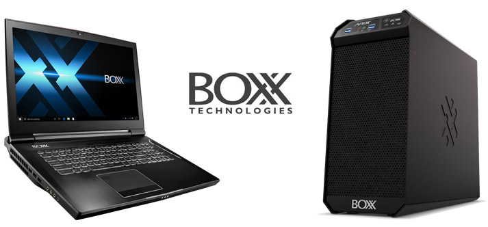 BOXX Computers for CAD Applications