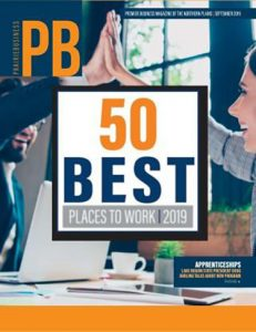PB 50 Best Places to Work