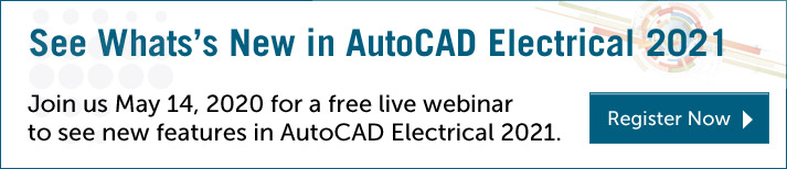 What's New in AutoCAD Electrical 2021