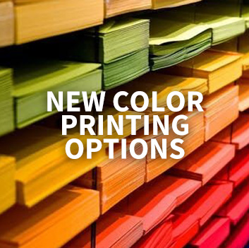 New Color Printing Options