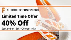 40% Off Fusion 360