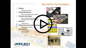 Applied Print & Image Services: Not Just for Architects